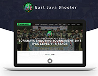 East Java Shooter Web Design