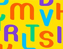 Rhythmical Font Design