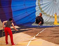 Ballonshooting / Heissluftballonshooting