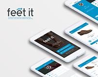 FeetIT App UI Design