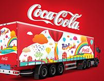 Easter Truck - Coca Cola
