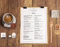 Le15 Cafe - Menu Design