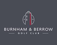 Burnham & Berrow Golf Club Re-brand