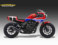 HONDA CMX 500 REBEL ENDURANCE