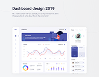 Dashboard design 2019