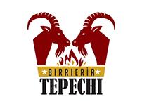 Logo animado Birrieria Tepechi