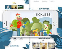 Tickless / motion, web, mobile design