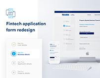 Fintech Application Form - Newable