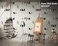 Home Wall Studio Mock-up