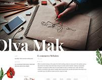 Olya Mak. Online women's clothing store