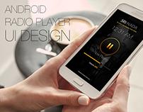 Radio App UI Design
