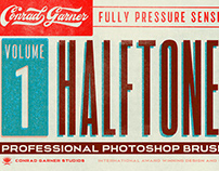 Halftone Brushes - PHOTOSHOP and Procreate!!