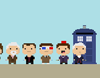 Fan Art: Doctor Who/Tiny Tower mashup
