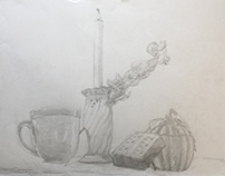 Still-Life in Grey: All White Objects