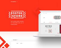 Adaptive design - POSTER STORE