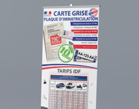 Rollup Carte grise