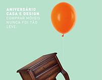 ANIVERSÁRIO CASA & DESIGN