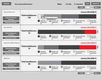 License Management Tools - UX