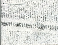 Ann Hamilton Concordances Text Fabric