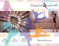 Marketing Materials for Dance School