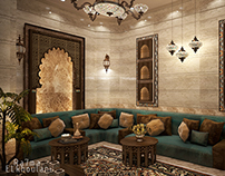 Moroccan Sitting Room