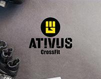 Identidade visual e naming - Box Ativus Crossfit