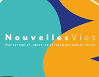 "Visual identity for ""Nouvelles Vies"" exhibition"
