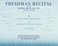 Vocal Recital Poster