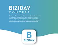 BIZIDAY UI Concept