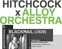 F.I.L.M. - Hitchcock x Alloy Orchestra