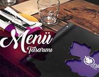 İnjir Cafe & Restaurant Menu Design