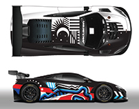 McLaren GT Livery submission for Spa 24hrs 2017