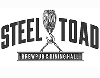 Steel Toad Brewing Co. Logo Identities by Steven Noble
