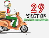 29 Handcrafted Vector Graphic Resources for Design