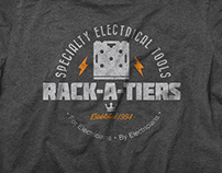 T-Shirt & Logo Design: rack-A-Tiers MFG.