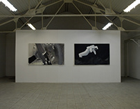 MAN IN SPACE - painting exhibition / 2009