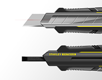 Stanley works - Stanley Fatmax Twin snap off knife