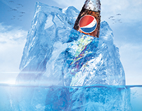"Pepsi Iceberg ""Social Media Cover Photo"""