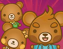 Kawaii Mascot Design: 乐 上口 是 Leshangkou - LOVE SAVOR