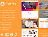 Petshop WordPress Theme - Features