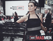 Mad Men Screening Event in Times Square