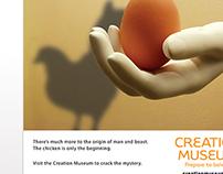 Creation Museum Print Ad