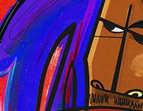 Bob Marley By Kiki