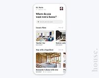 Rent a House UI Design