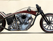 Knucklehead Bike Design