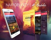 Nairobi City - Guide App UI