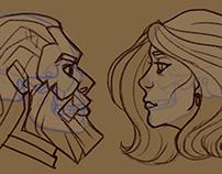 Character Designs: Hamlet