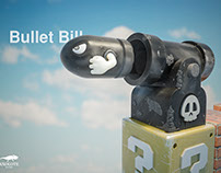 """Bullet Bill"" Fan Art"
