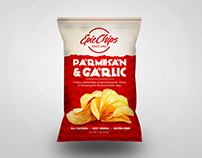 Epic Chips Concept Package Design