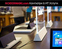 Business Website - MODERNABG.com Plovdiv